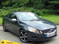 USED 2012 62 VOLVO S60 1.6 D2 R-DESIGN 4d  FULL VOLVO SERVICE HISTORY & 128 POINT AA INSPECTED