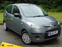 USED 2011 11 HYUNDAI I10 1.2 CLASSIC 5d 77 BHP * 128 POINT AA INSPECTED *