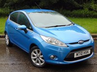 USED 2010 10 FORD FIESTA 1.4 ZETEC TDCI 5d 68 BHP LOW RUNNING COSTS DIESEL FAMILY CAR