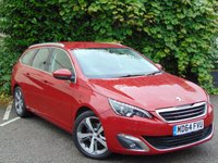 USED 2015 64 PEUGEOT 308 1.6 HDI S/S SW ALLURE 5d  **BALANCE OF PEUGEOT WARRANTY TILL JANUARY 2018**
