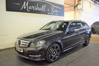 USED 2012 62 MERCEDES-BENZ C CLASS 2.1 C220 CDI BLUEEFFICIENCY AMG SPORT PLUS 5d AUTO 168 BHP