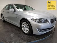 USED 2010 60 BMW 5 SERIES 3.0 525D SE 4d AUTO 202 BHP FSH-BLUETOOTH-LEATHER-ALLOYS