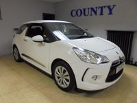 USED 2012 62 CITROEN DS3 1.4 DSIGN 3d 95 BHP * TWO OWNERS WITH HISTORY *