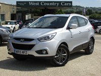 USED 2015 15 HYUNDAI IX35 1.6 GDI SE BLUE DRIVE 5d 133 BHP Practical And Reliable