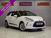 USED 2014 14 CITROEN DS3 1.2 DSIGN 3d 82 BHP