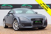 "USED 2008 08 AUDI TT 2.0 TFSI 3d 200 BHP **£0 DEPOSIT FINANCE AVAILABLE**SECURE WITH A £99 FULLY REFUNDABLE DEPOSIT** 1 OWNER, FULL SERVICE HISTORY, 12 MONTHS MOT, FULL RED LEATHER, HEATED FRONT SEATS, AUDI CONCERT, ELECTRIC WINDOWS + HEATED ELECTRIC WING MIRRORS, AIR CONDITIONING, AUX PORT AND 18"" ALLOYS"