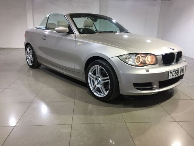 View our 2008 58 BMW 1 SERIES 2.0 118I ES 2d 141 BHP