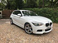 2012 BMW 1 SERIES 2.0 118D M SPORT 3d 141 BHP £10989.00
