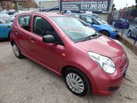USED 2011 61 SUZUKI ALTO 1.0 SZ3 5d 68 BHP F.S.H, LOW MILEAGE, CHEAP INSURANCE, GREAT VALUE, IDEAL 1ST CAR