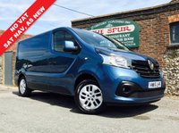 USED 2015 15 RENAULT TRAFIC 1.6 SL27 SPORT ENERGY DCI S/R P/V 1d 120 BHP Lovely Low Mileage, NO VAT, Air Conditioning, SAT NAV, As New.