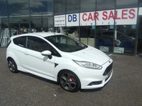 USED 2014 64 FORD FIESTA 1.6 ST-2 3d 180 BHP £0 DEPOSIT, LOW RATE FINANCE ANYONE, DRIVE AWAY TODAY!!