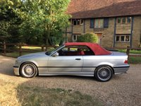USED 1999 T BMW ALPINA B3 BMW E36 B3 3.2 ALPINA CONVERTIBLE, SWITCHTRONIC THE BMW E30 HAS GONE THROUGH THE ROOF PRICE WISE ESPECIALLY AN ALPINA (IF YOU CAN FIND ONE). THE E36 IS NEXT IN LINE AND THE E36 M3 PRICES HAVE ROCKETED SO THIS BEING 77 OF 82 MEANS THIS IS ONLY GOING ONE WAY IN VALUE.. ITS FAR MORE INDIVIDUAL THAN ANY M3 E36 AND IS SO RARE THAT ITS A NO BRAINER AS A GREAT CAR TO OWN USE AND INVEST IN. PRESENTED IN LOVELY CONDITION WITH TOP SPEC. HAS ITS FULL TOOL KIT AND EVEN THE GLOVEBOX TOURCH.. VGC THROUGHOUT AND A FSH. HPI CLEAR.