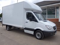 USED 2013 63 MERCEDES-BENZ SPRINTER 313 CDI LWB LUTON, 130 BHP [EURO 5], FULL SERVICE HISTORY, 1 COMPANY OWNER