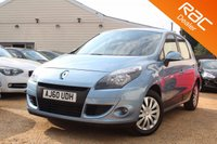 USED 2010 60 RENAULT SCENIC 1.5 EXPRESSION DCI FAP EDC 5d AUTO 110 BHP Parking Aid, 6 months warranty