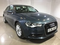 USED 2014 14 AUDI A6 3.0 TDI QUATTRO SE 4d AUTO 201 BHP One Owner From New/Huge Spec