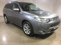 USED 2014 64 MITSUBISHI OUTLANDER 0.0 PHEV GX 3H 5d AUTO 162 BHP One Owner From New/Great Car