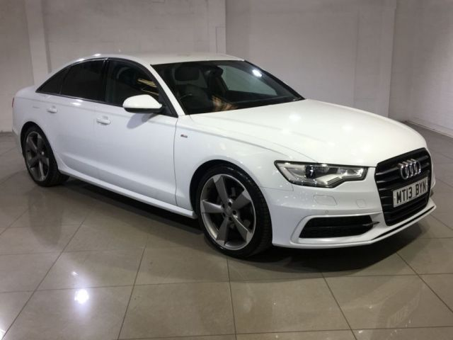 View our 2013 13 AUDI A6 2.0 TDI S LINE BLACK EDITION 4d AUTO 175 BHP