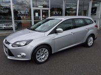 2012 FORD FOCUS 1.6 TURBO TITANIUM ECOBOOST 5 DOOR ESTATE 148 BHP £7499.00