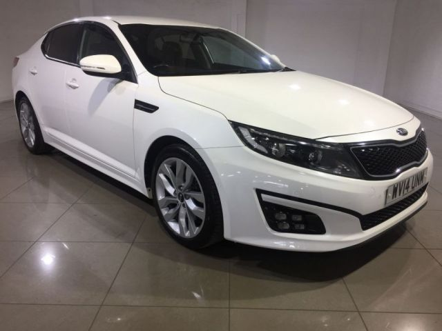 View our 2014 14 KIA OPTIMA 1.7 CRDI 2 ECODYNAMICS 4d 134 BHP