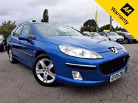 USED 2005 05 PEUGEOT 407 2.0 SW SE HDI 5d 135 BHP! p/x welcome! FULL PANAROMIC ROOF! SERVICE HISTORY! CRUISE & CLIMATE CONTROL! PDI CHECKED! NEW MOT & SERVICE! FULL PAN-ROOF! SERVICE HIST! NEW MOT! PDI CHECKED! NEW SERVICE! TOW BAR!