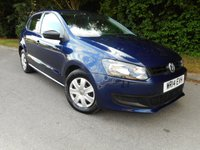 USED 2014 14 VOLKSWAGEN POLO 1.2 S A/C 5d 60 BHP * 1 Private Owner From New* V.W Service History*