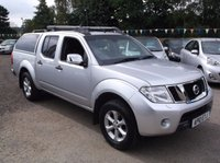 USED 2010 10 NISSAN NAVARA 2.5 DCI TEKNA 4X4 DCB 1d AUTO 188 BHP 1 OWNER, AUTOMATIC / DIESEL, STUNNING EXAMPLE THROUGHOUT, EXCELLENT SPEC,  DRIVES SUPERBLY, NO VAT !!!!!!!!