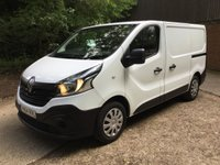 2014 RENAULT TRAFIC 1.6 LL29 BUSINESS DCI S/R P/V 1d 115 BHP £8995.00
