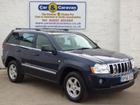 USED 2006 56 JEEP GRAND CHEROKEE 3.0 V6 CRD LIMITED 5d AUTO 215 BHP SERVICE HISTORY 12 MTH MOT