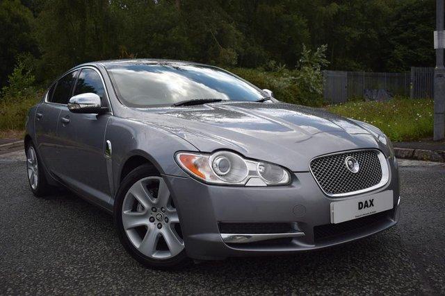 2008 08 JAGUAR XF 2.7 PREMIUM LUXURY V6 4d 204 BHP
