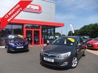 USED 2010 10 VAUXHALL ASTRA 1.6 EXCLUSIV 5d 113 BHP A/C,ALLOYS,12 MONTHS WARRANTY
