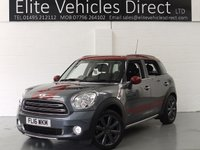 USED 2016 16 MINI COUNTRYMAN 1.6 COOPER D ALL4 PARK LANE 5d 112 BHP
