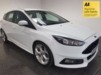 USED 2015 15 FORD FOCUS 2.0 ST-2 TDCI 5d 183 BHP FSH-BLUETOOTH-LEATHER-A/C