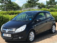 USED 2009 09 VAUXHALL CORSA 1.2 DESIGN INTOUCH 3d 80 BHP