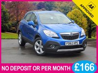 USED 2013 62 VAUXHALL MOKKA 1.4 EXCLUSIV S/S 5dr 138 BHP 4X4 TURBO 4X4 PHONE 18 INCH ALLOYS AIR CON