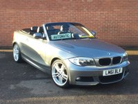 USED 2011 61 BMW 1 SERIES 2.0 120I M SPORT Convertible 2d AUTO 168 BHP