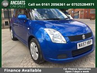 2007 SUZUKI SWIFT 1.3 GL 3d 91 BHP £1295.00