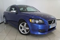 USED 2008 08 VOLVO C30 2.0 D SPORT 3DR 135 BHP SERVICE HISTORY + HEATED LEATHER SEATS + CLIMATE CONTROL + CRUISE CONTROL + MULTI FUNCTION WHEEL + RADIO/CD + ALLOY WHEELS