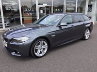USED 2015 15 BMW 5 SERIES 2.0 520D M SPORT TOURING 5DR AUTO 188 BHP