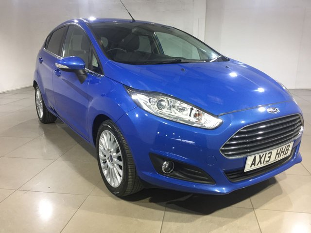 View our 2013 13 FORD FIESTA 1.0 TITANIUM 5d 124 BHP