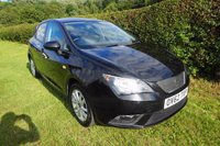USED 2012 62 SEAT IBIZA 1.2 CR TDI ECOMOTIVE SE 5d 74 BHP,FULL HISTORY,HEATED SEATS,CRUISE CONTROL