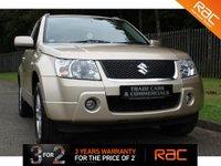 2007 SUZUKI GRAND VITARA 1.6 VVT PLUS 3d 105 BHP £4000.00
