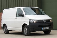 USED 2014 14 VOLKSWAGEN TRANSPORTER 2.0 T26 TDI P/V STARTLINE BMT 1d 84 BHP NO VAT TO PAY, REAR ELECTRICS, LOW RATE FINANCE AVAILABLE