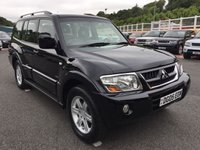 USED 2005 05 MITSUBISHI SHOGUN 3.2 EQUIPPE WARRIOR LWB DI-D 5d AUTO 159 BHP 7 Seats, full leather, high Warrior spec with service history
