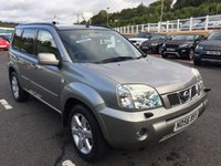 USED 2006 56 NISSAN X-TRAIL 2.2 AVENTURA DCI 5d 135 BHP Sat Nav, leather, sunroof high Aventura model