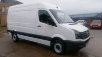USED 2013 13 VOLKSWAGEN CRAFTER 2.0 CR35 TDI 1d 107 BHP MWB  S/H  1 OWNER 2 KEYS