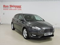 USED 2016 66 FORD FOCUS 1.0 ZETEC NAVIGATOR 5d 100 BHP With Appearance Pack
