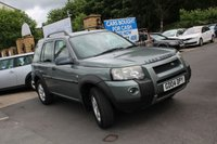 USED 2004 04 LAND ROVER FREELANDER 1.8 SE STATION WAGON 5d 116 BHP 2 wd