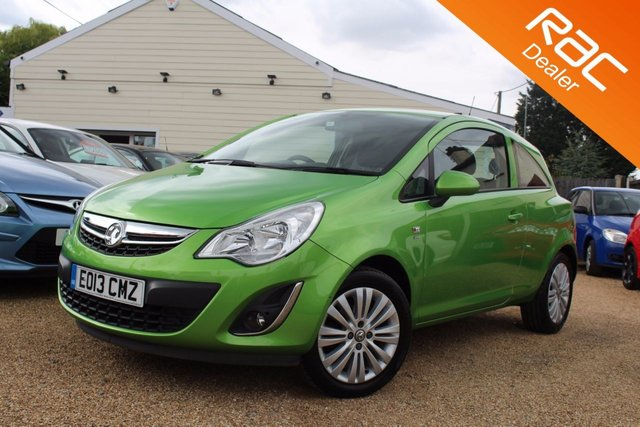 View our 2013 13 VAUXHALL CORSA 1.2 ENERGY AC 3d 83 BHP