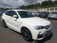 USED 2016 16 BMW X4 3.0 XDRIVE35D M SPORT 4d AUTO 309 BHP Cost apex £55,500 new with huge spec & only 13,500 miles