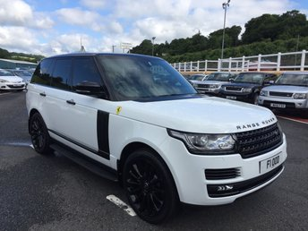 View our LAND ROVER RANGE ROVER